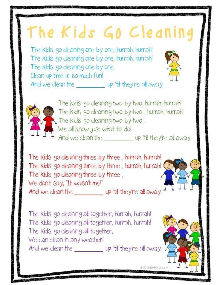 Lyric bumble bee song lyrics : Image result for clean up song lyrics preschool | 1 balls study ...
