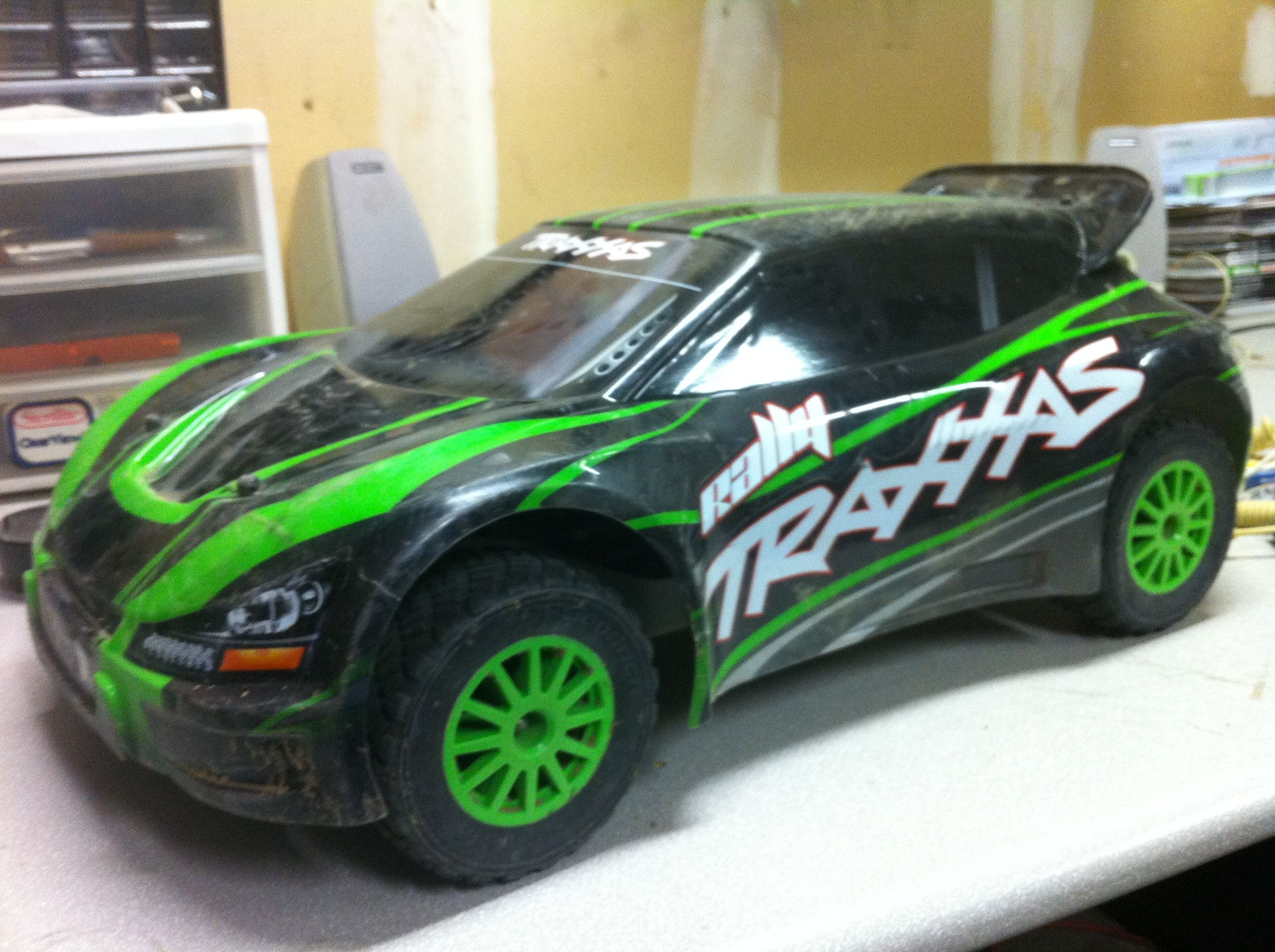 Traxxas Rally VXL 1 10 RC Car 4WD Electric RTR