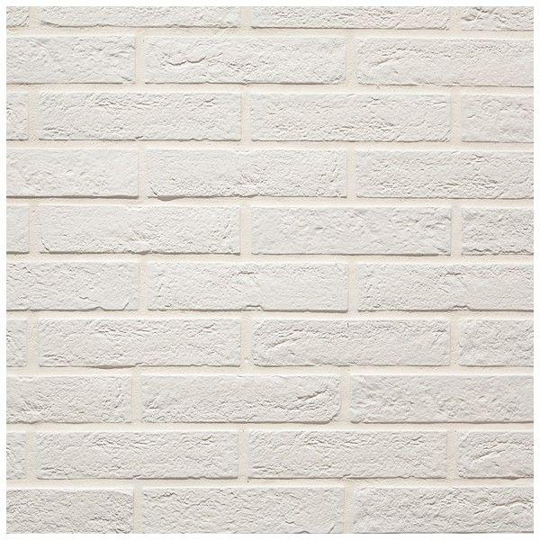 Imitacja Ceglielki Tribeca White White Brick Tile Inspiration Brick