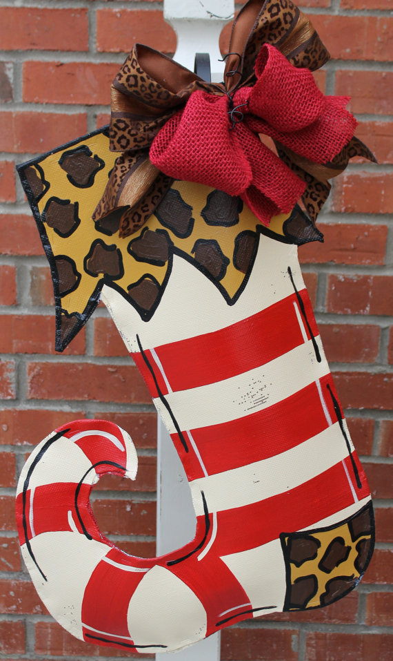 Stocking Door Hanger Christmas Decorations Christmas
