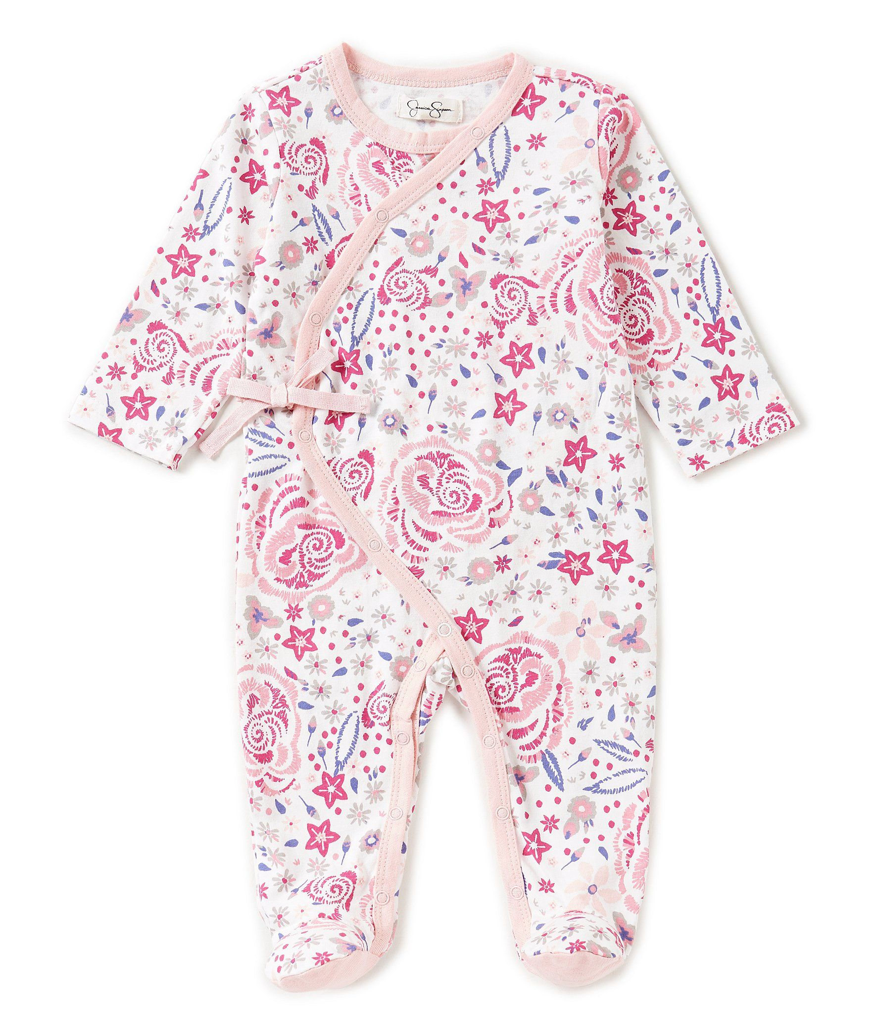 Shop for Jessica Simpson Baby Girls Newborn 9 Months Floral Printed