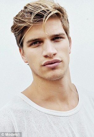 Toby Huntington-Whiteley lands first modelling campaign #dailymail