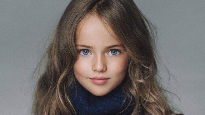 Kristina Pimenova Beautiful 10 Year Old Model