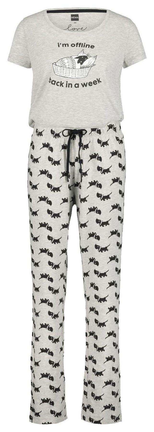 b9347dfe03424b1b091e9ab527272bdc - Dames Pyjama Met Korte Broek