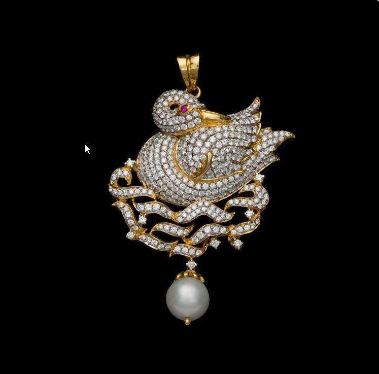 All Diamond Necklace for Woman | Diamond_Diamond_Pendant.JPG