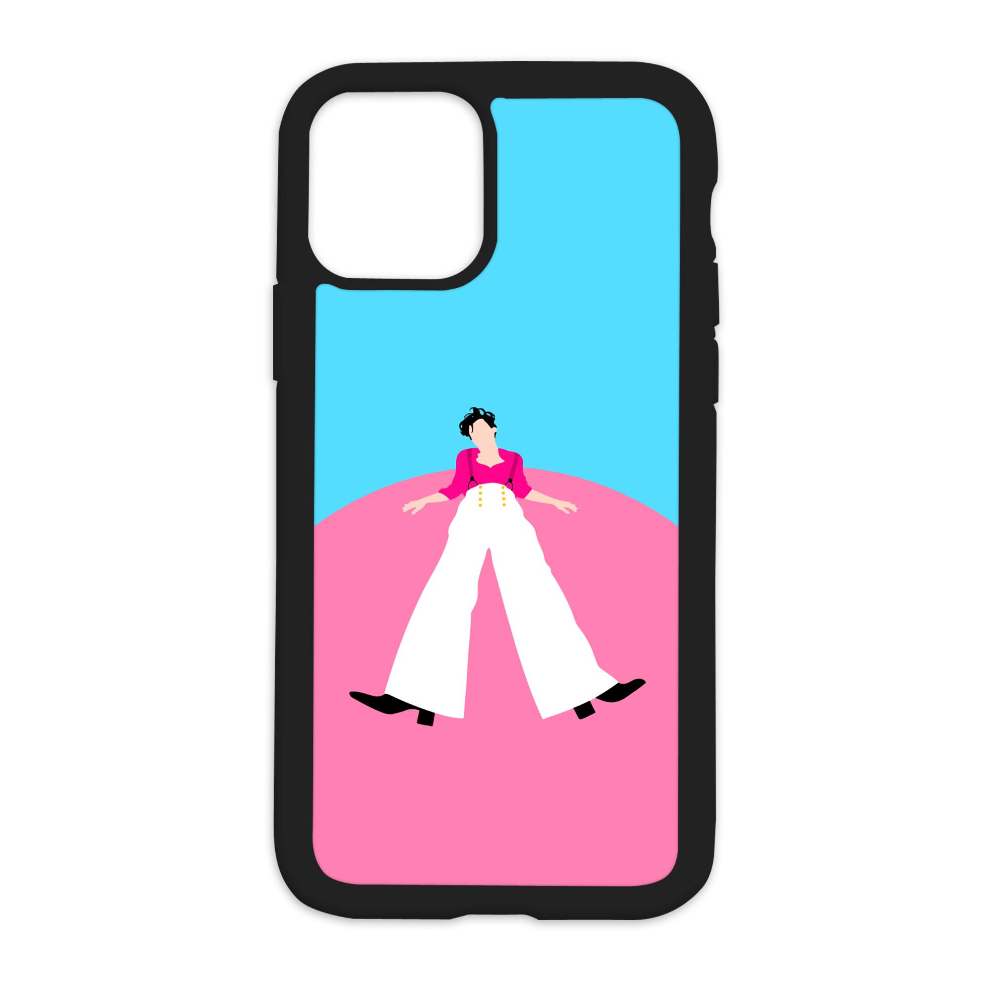 Harry Styles Design On Black Phone Case - 6/6s+