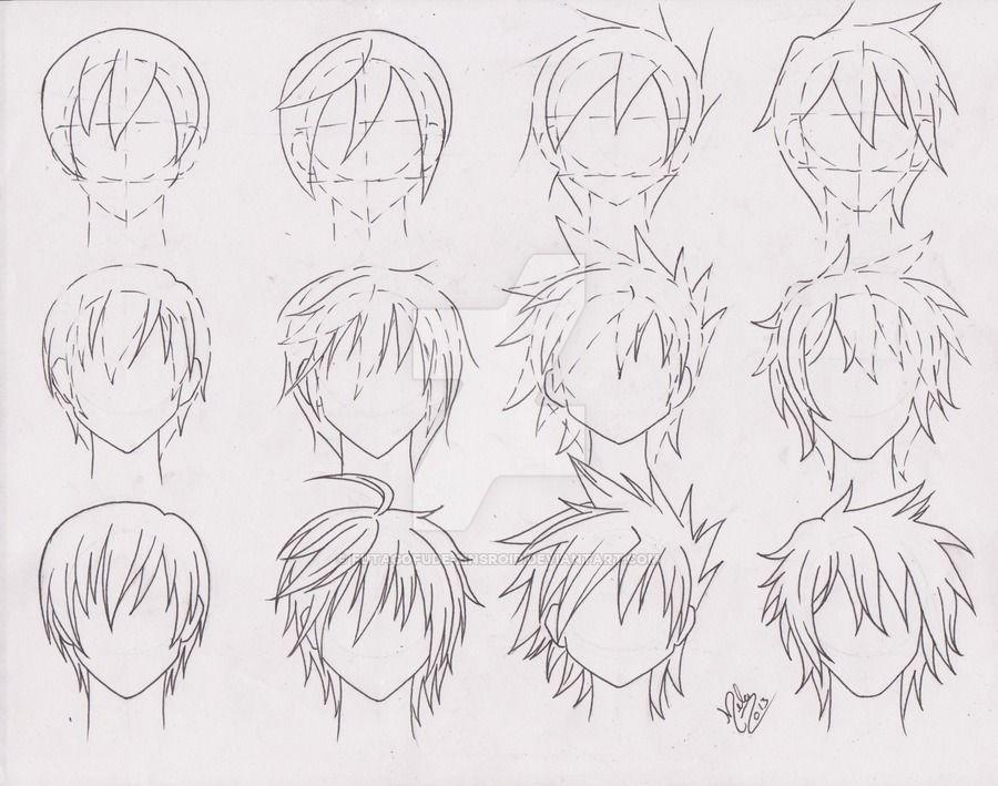 Practice Hairstyle For Boys 01 By Https Www Deviantart Com Futagofude 2insroid On Deviantart Anime Boy Hair Anime Hair Manga Hair
