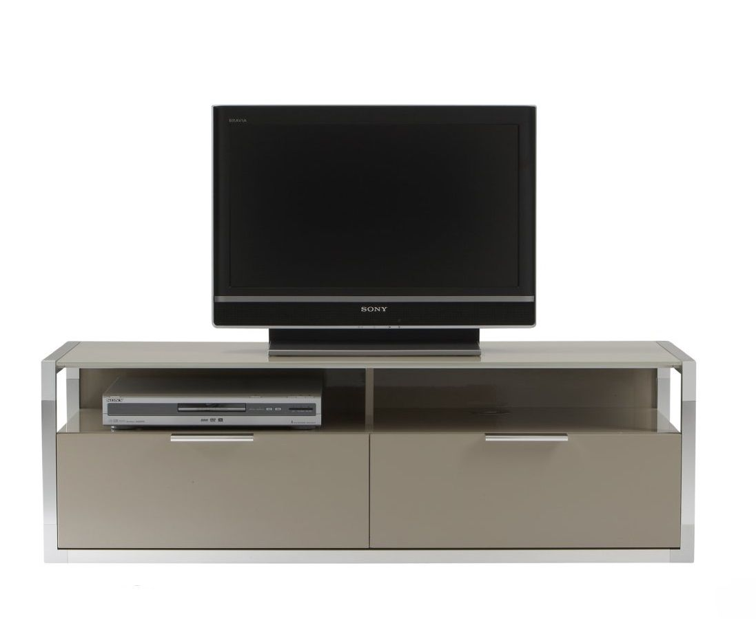 Ligne Roset Dedicato Tv Media Unit H41 2 W127 8 D45 Cm 2 Flap  # Ligne Roset Meuble Tv