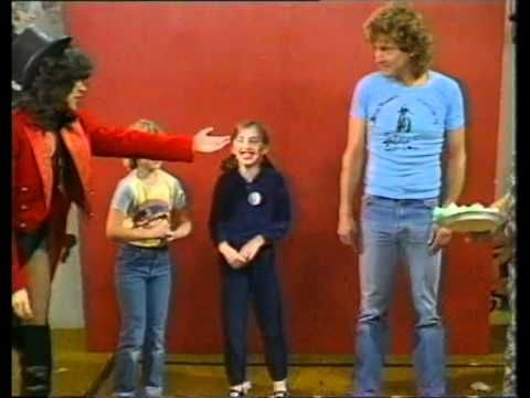 Robert Plant and Cozy Powell on Tiswas (1981)