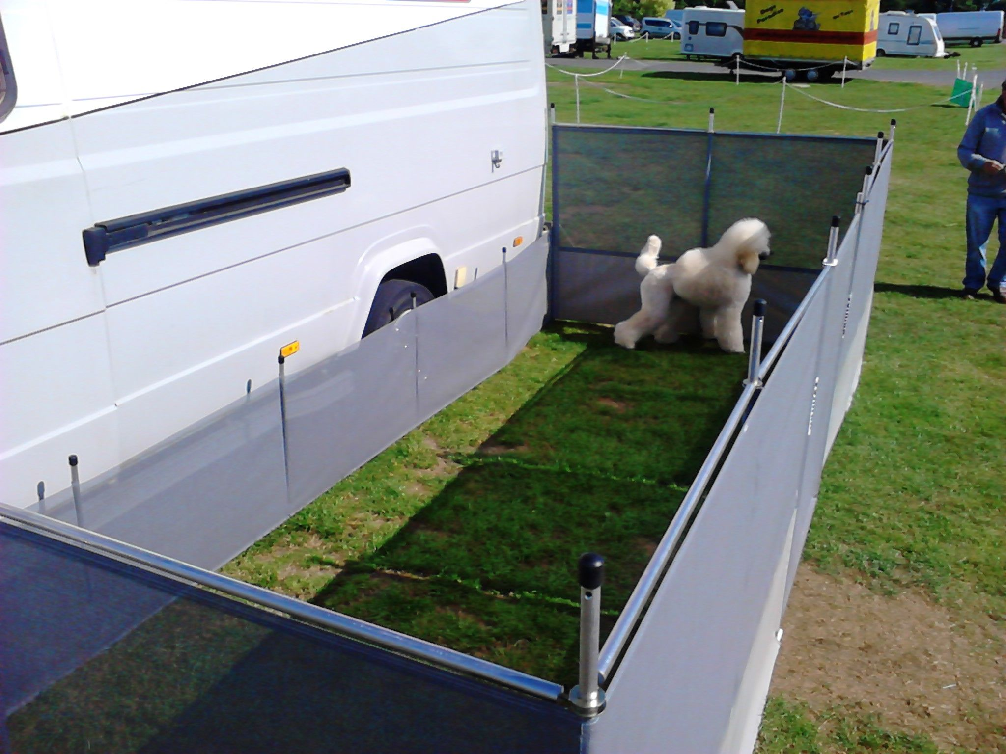 Image Result For Rv Dog Fence Dogs And Rving Pinterest