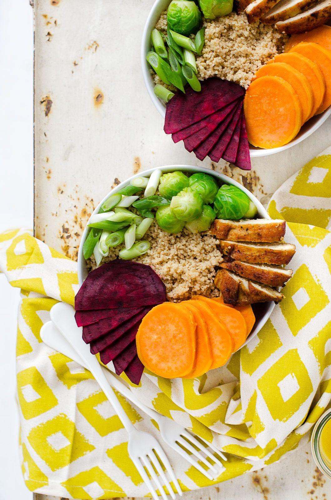 Rosenkohl Quinoa Bowl | Gesunde rezepte, Rezepte und ...