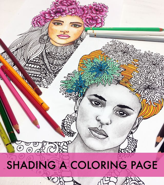 Shading A Coloring Page Tips And Tricks