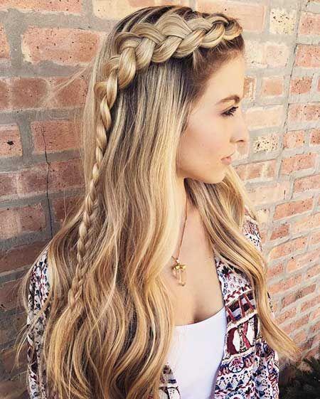 25 Frisuren Mit Zöpfen Für Lange Haare Hair And Beauty