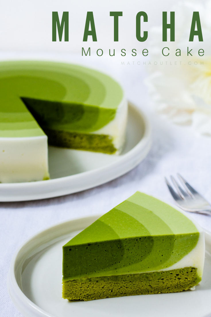 Matcha Mousse Cake -   16 desserts Fancy cake ideas
