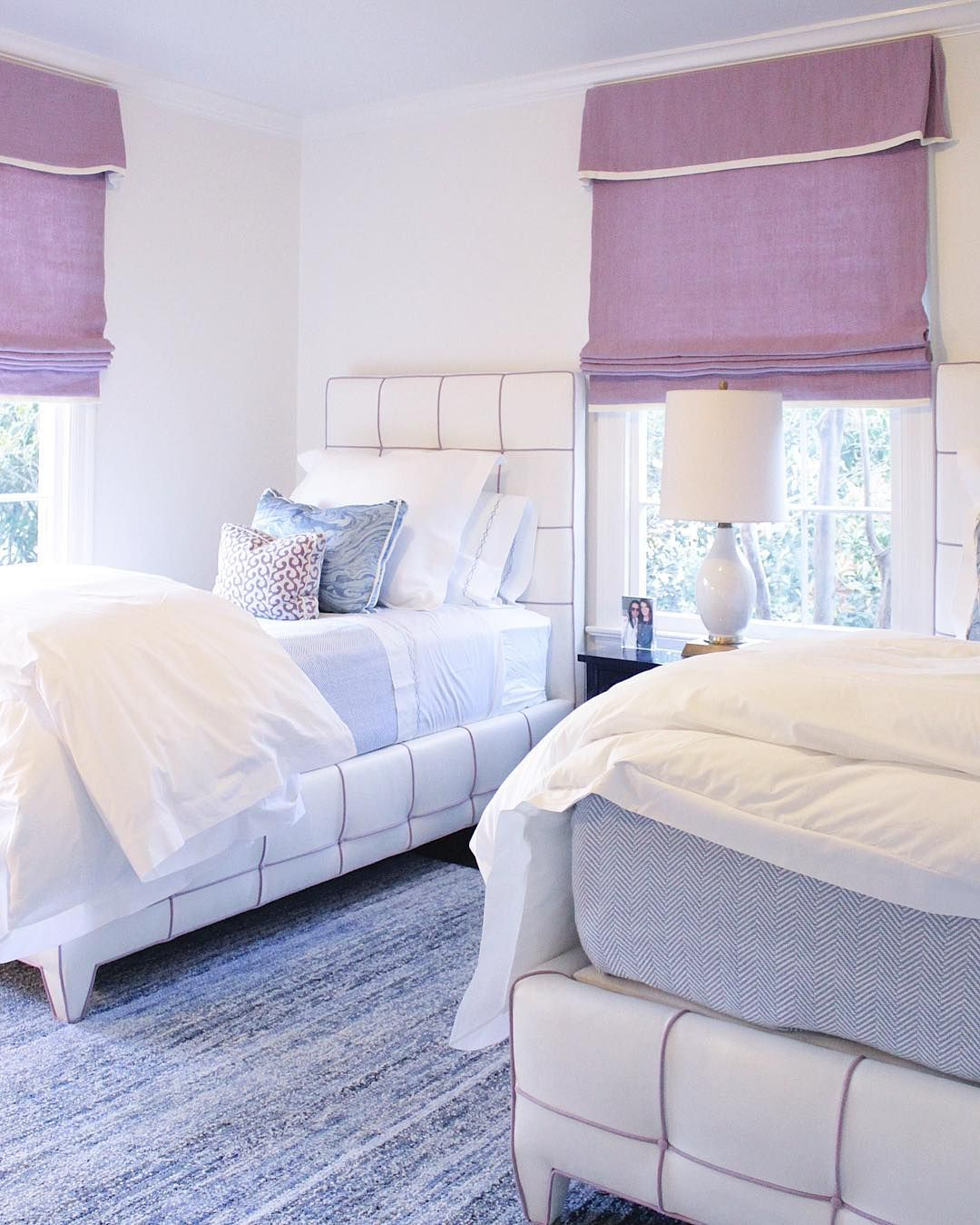 Twin bedding guest room - Lavender Guest Bedroom Design By Collins Interiors Two Twin Best Collins Interiors