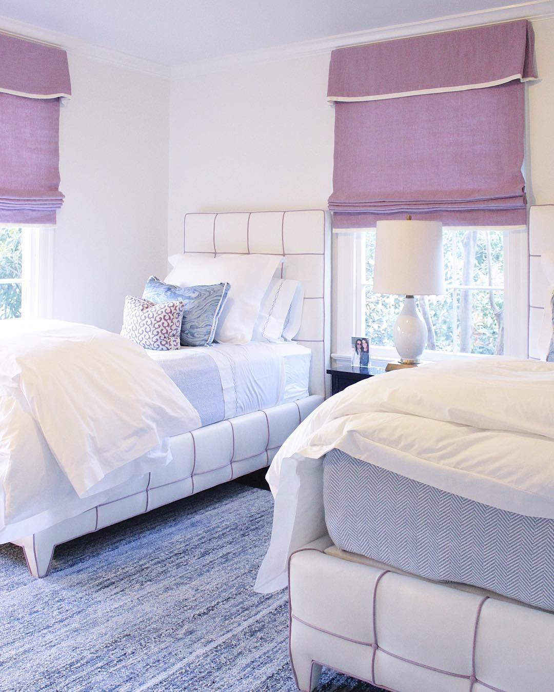 Bedroom Pretty Bedroom Design By California King Storage: Lavender Guest Bedroom Design By Collins Interiors