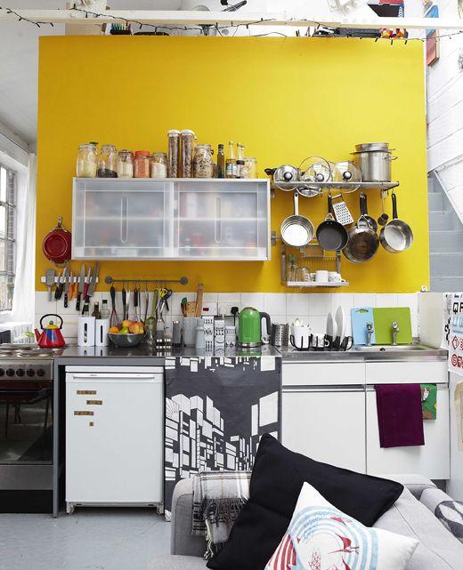 Farbe schafft Ordnung In einem offenen Wohnraum kannst du mit Farbe