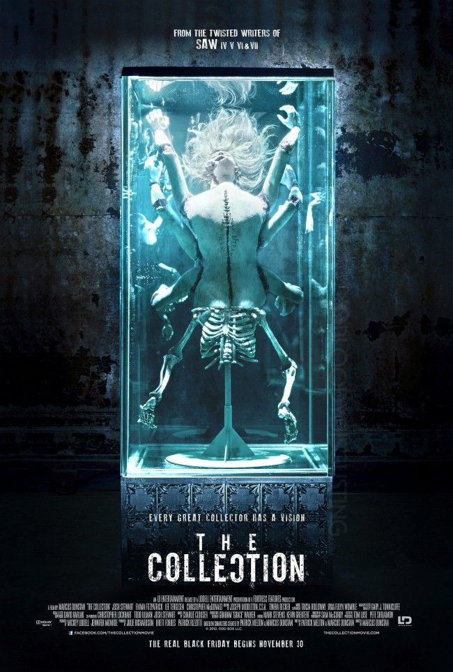 2012's The Collection.   Horror movie posters, Best horror ...