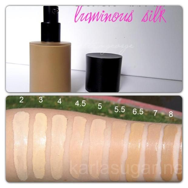 armani beauty luminous silk foundation