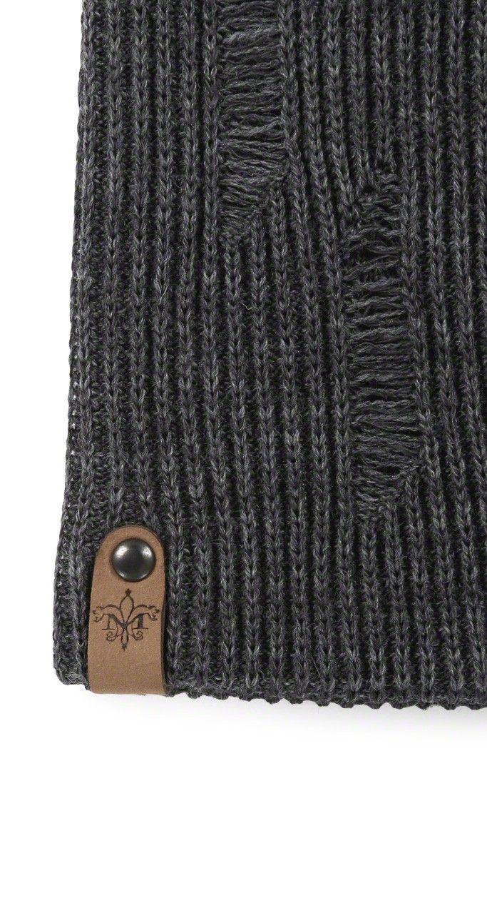 Mackage - TAZ-F4 GREY KNIT BEANIE HAT FOR MEN. www.mackage.com  winter   menswear outerwear  beanie  fw14  mackage 38a9d0dee4c