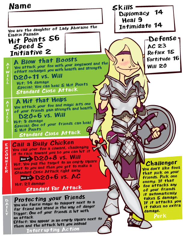 Art By Stowe Dnd For Dads 2 The Girls Part 1 Dungeons And Dragons Characters Dungeons And Dragons Homebrew Dnd