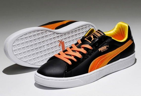 puma basket orange