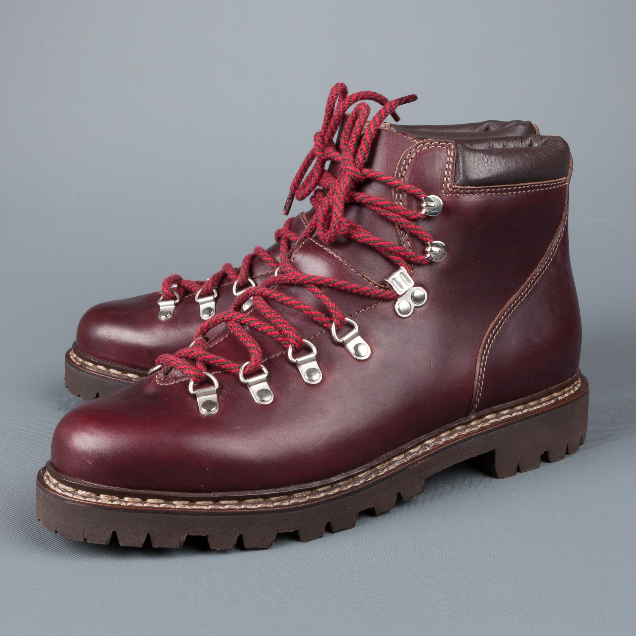 Paraboot Avoriaz Bordeaux | Boots, Leather boots, Hiking boots