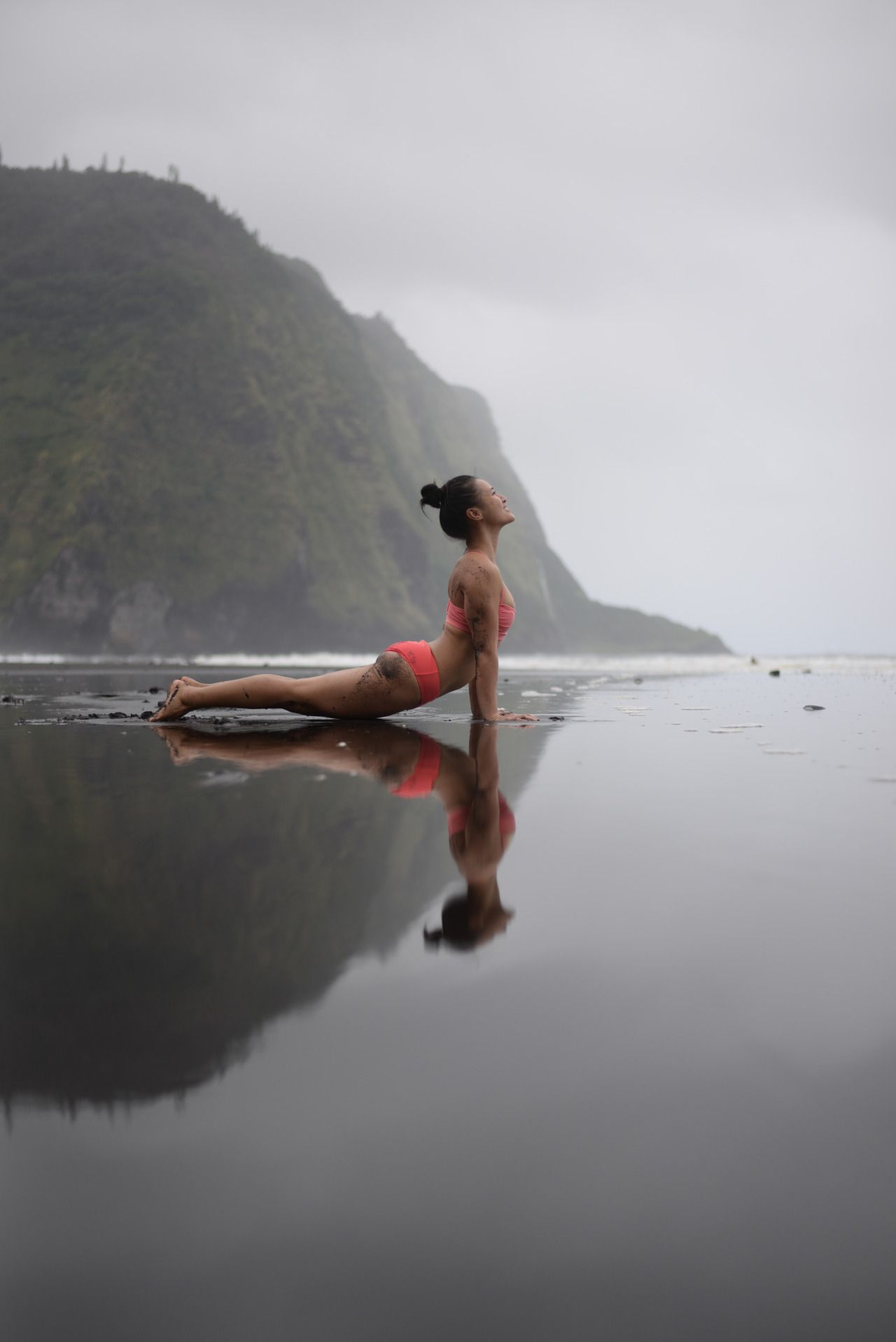 Happiness is when what you think, what you say, and what you do are in harmony. ~Gandhi | photo: Waipio Valley, Hawaii