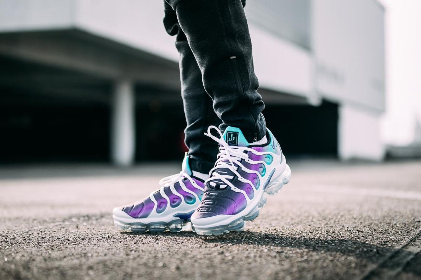 79d042a99fc69 Nike Air Vapormax Plus Grape On Feet april 14 2018 release date info drop  sneakers shoes footwear
