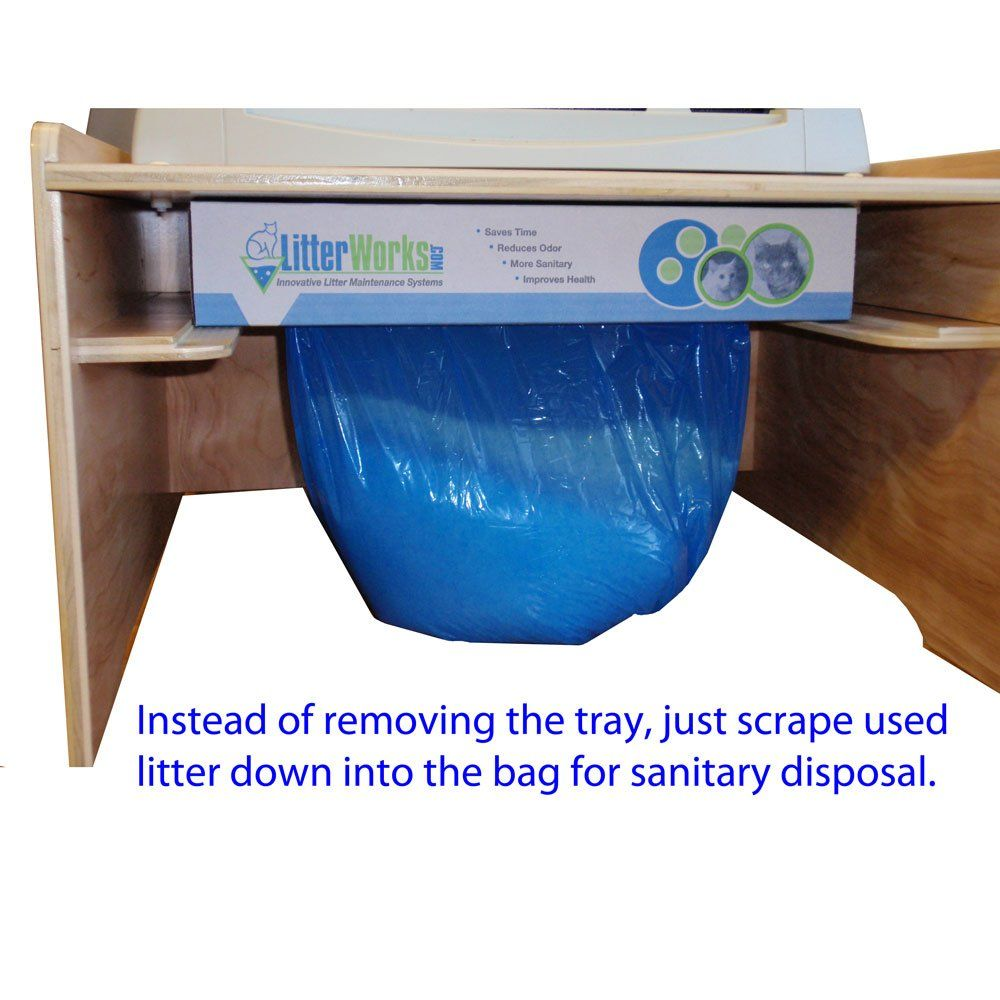Highcapacity Litter Disposal System For Littermaid Compatible With Lm980 And All Elite Models Click On The Photo For Additi Litter Tray Litter Box Litter
