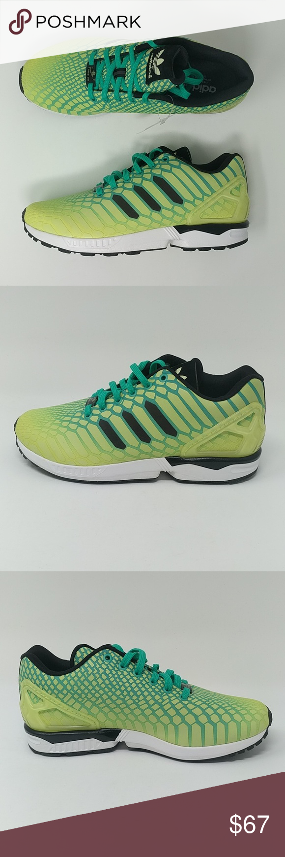 wholesale dealer 02c8e 89efd Adidas ZX Flux Xeno Mens Running Shoes New New with box ...