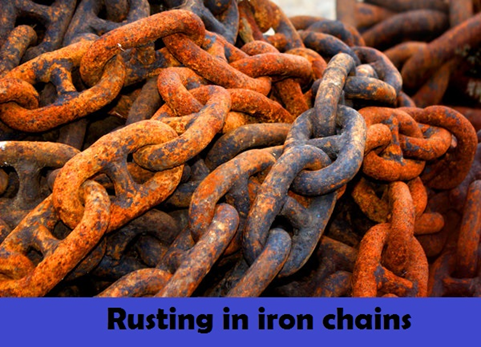 Metals React With Oxygen To Form Compounds Known As Oxides Rust Is