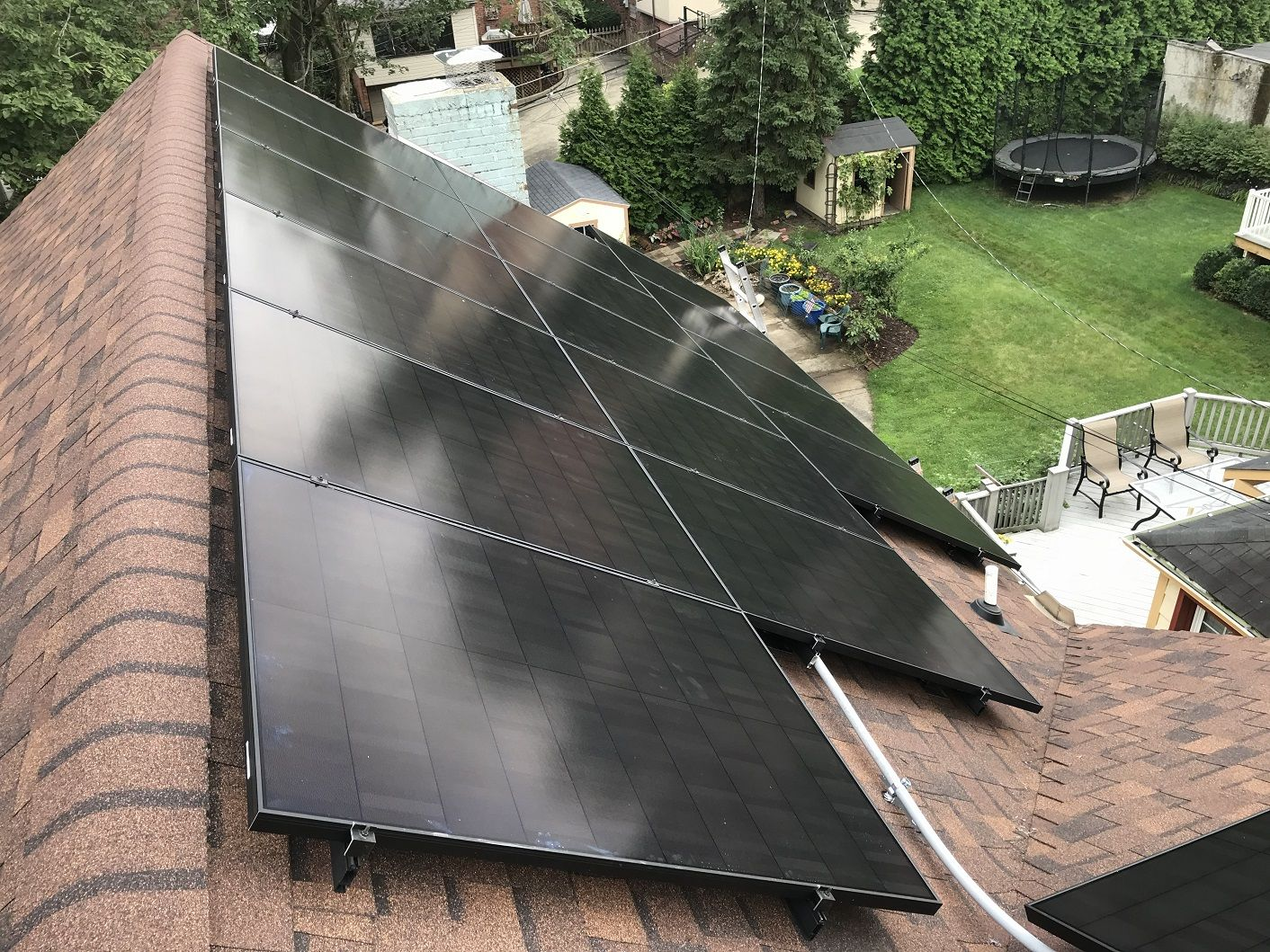 We Installed A New System In Squirrel Hill Featuring 20 Solaria 350w Us Panels It Is Expected To Provide 8 155 Kwh Annu Solar Solar Panels Residential Solar