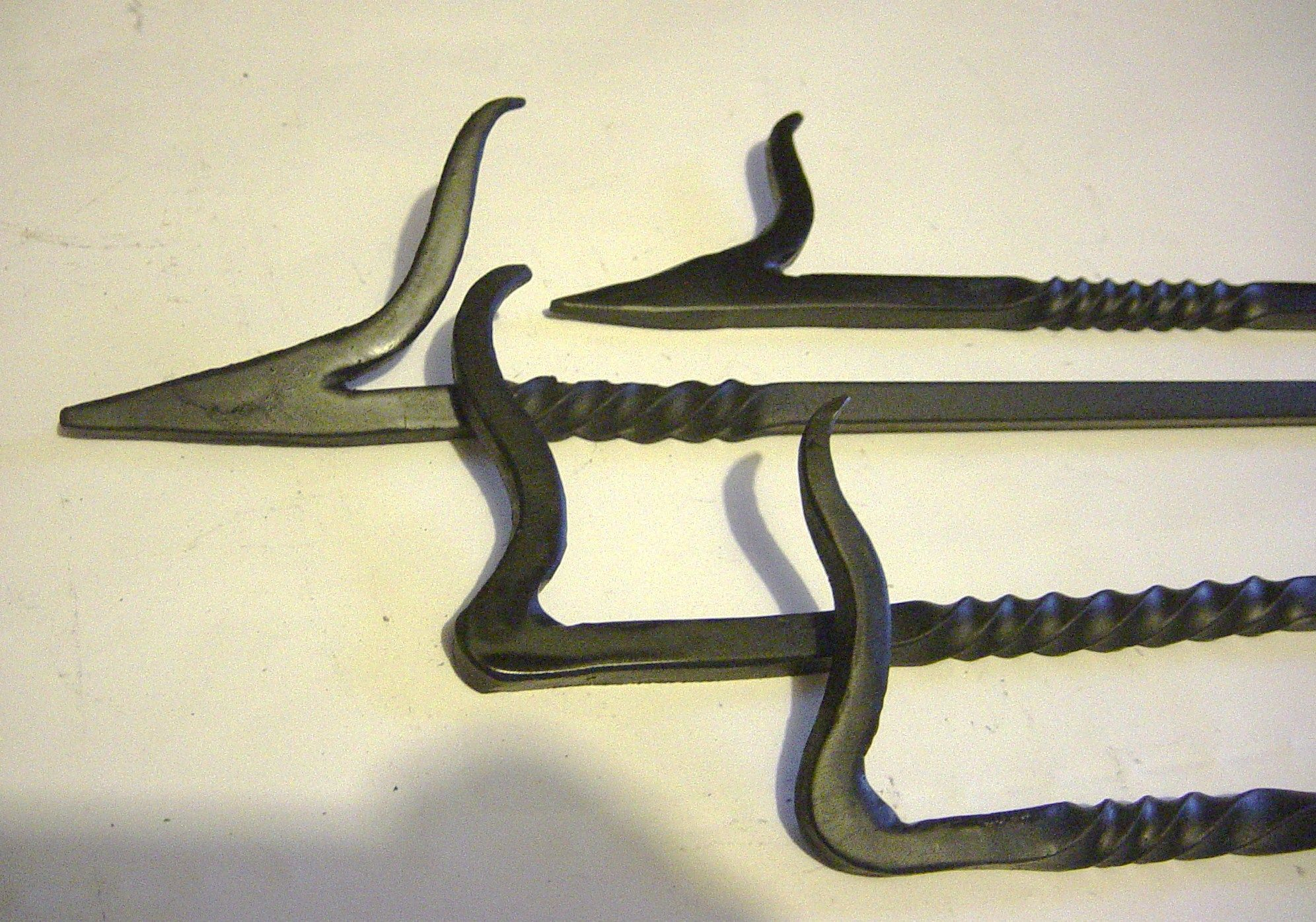Handmade Fireplace Tools Hand Forged Fire Poker Points My Products Pinterest