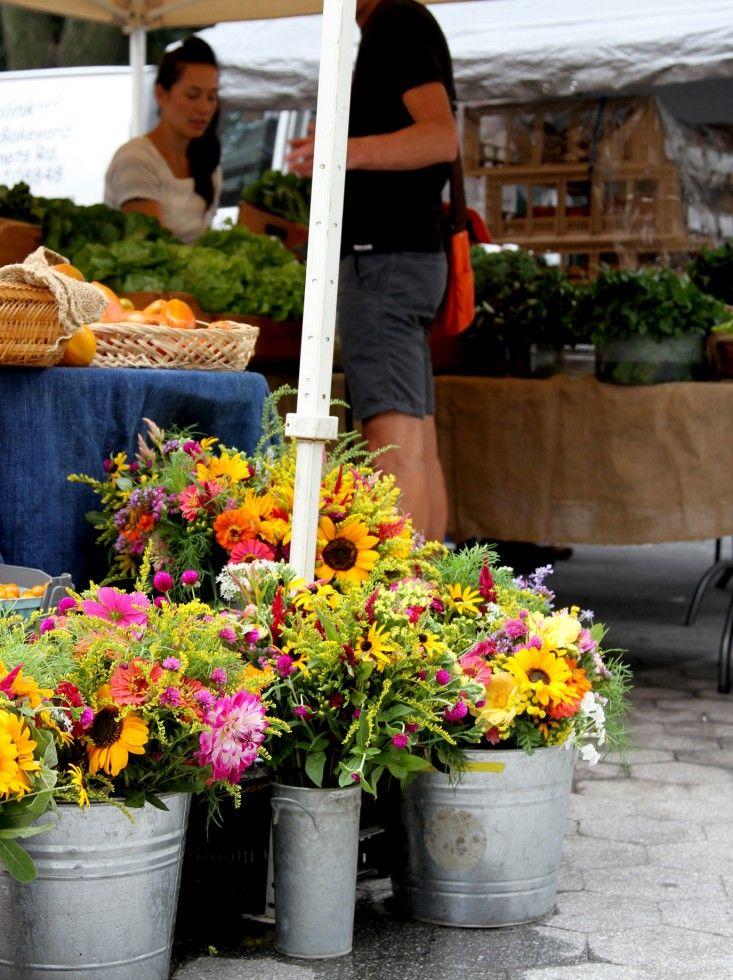 Get the Look: Farmers' Market Flowers