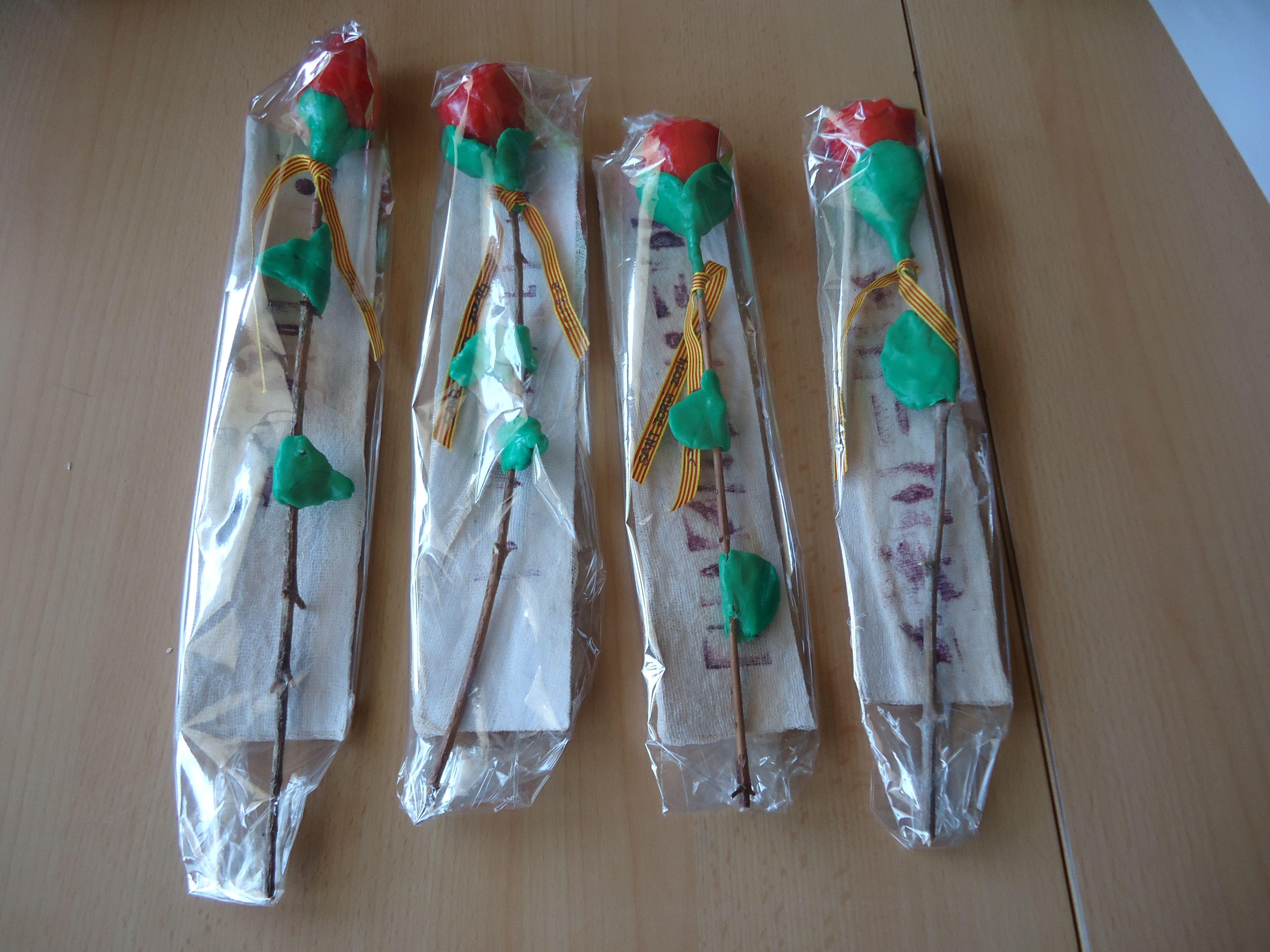 Rosa Sant Jordi Cicle Inicial Calders