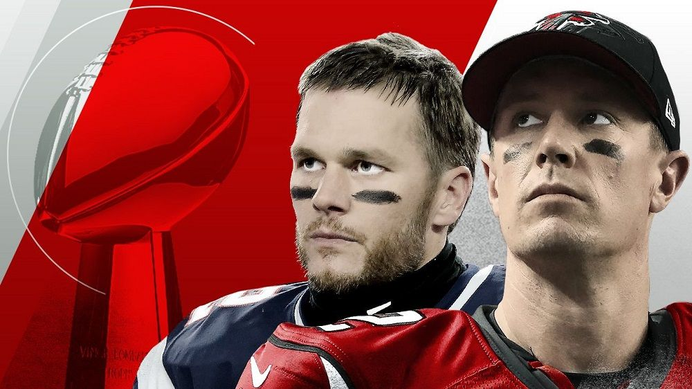Matt Ryan Vs Tom Brady Super Bowl 51 Super Bowl Li Tom Brady Superbowl Champions