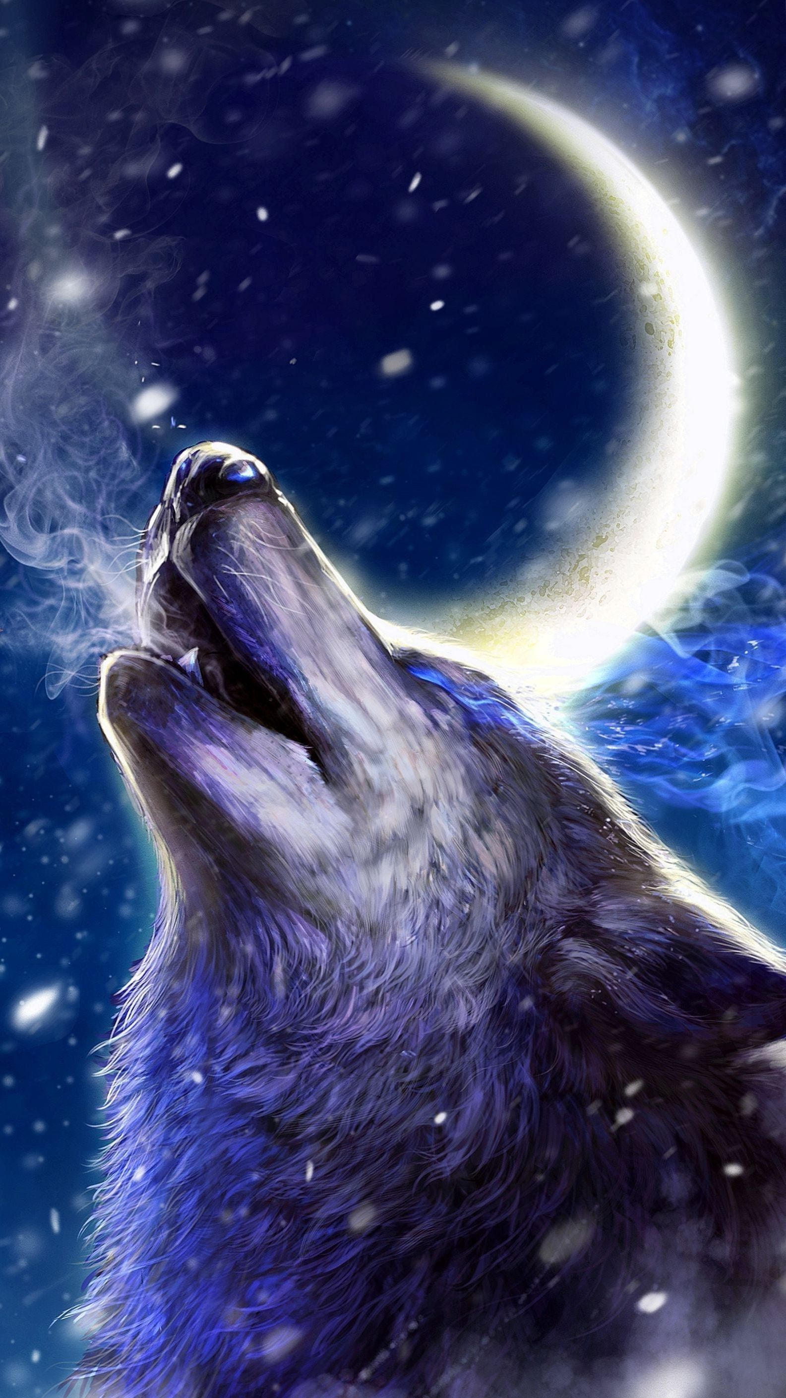 Android Live Wallpapers Wolves Howling Wolf wallpaper