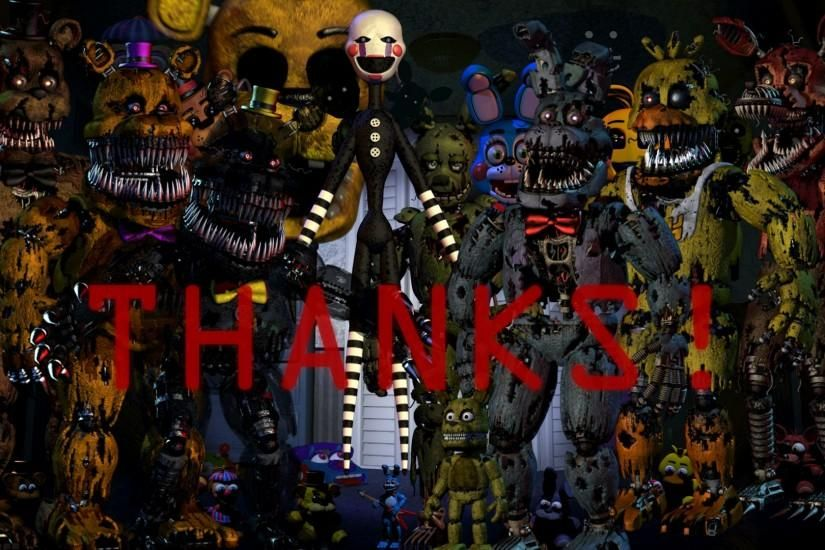 download free fnaf wallpaper 1920x1080 4k Fnaf