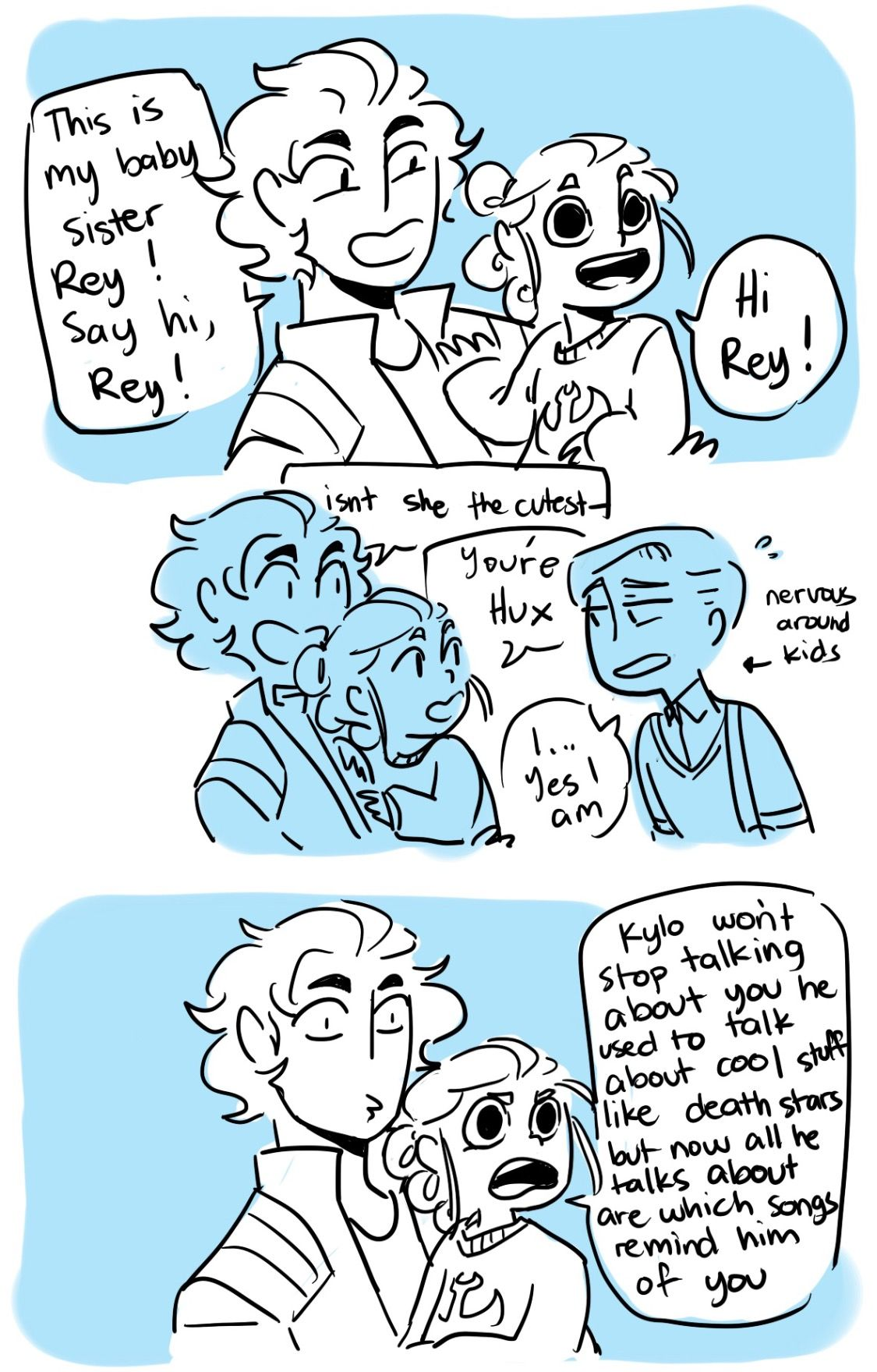 Kylux ft. Rey << to the people who ship reylo they might be canon-related so plz << credit to space-emos // jeweledowl812 ✧