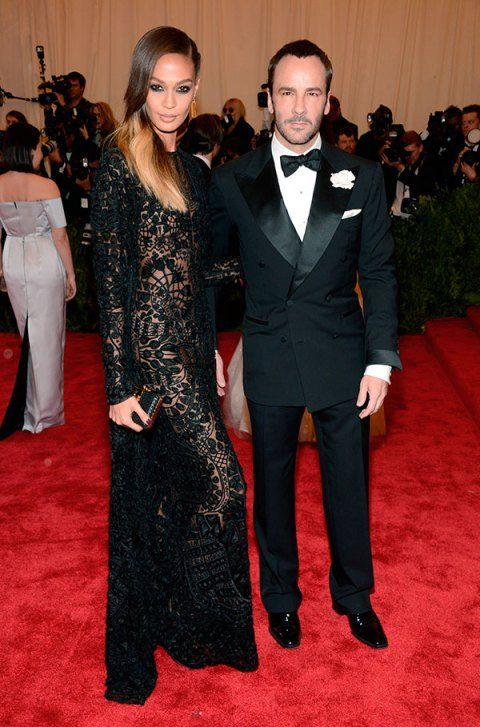Joan Smalls & Tom Ford Met Gala