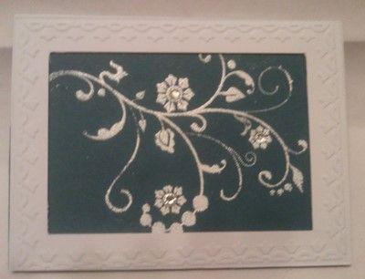 Schnörkelkarte #Flowering Florishes
