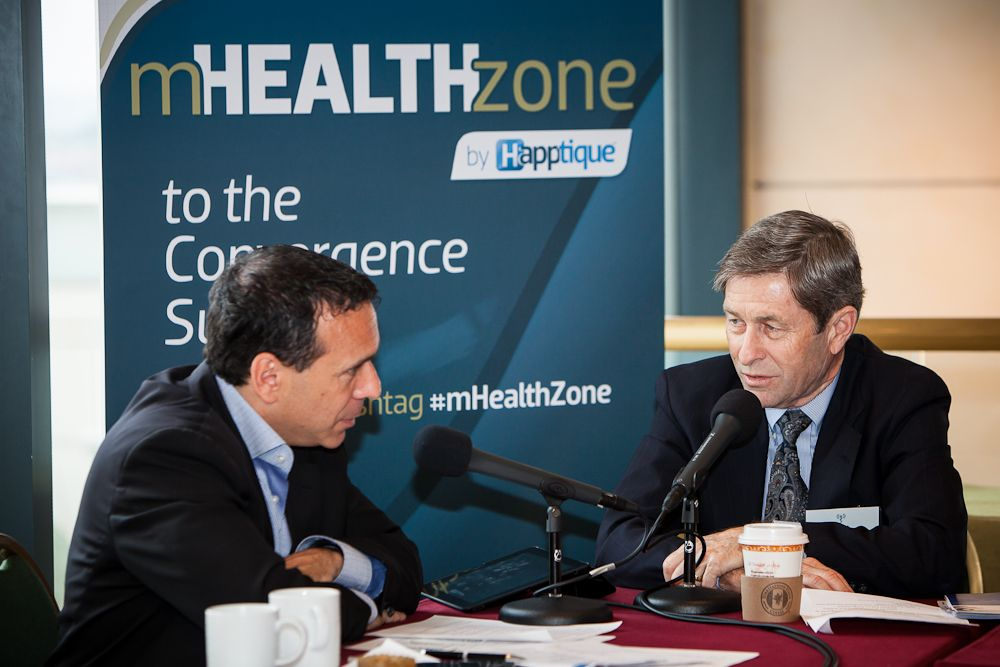 Ben chodor from mhealth zone interviews wlsas rob mccray