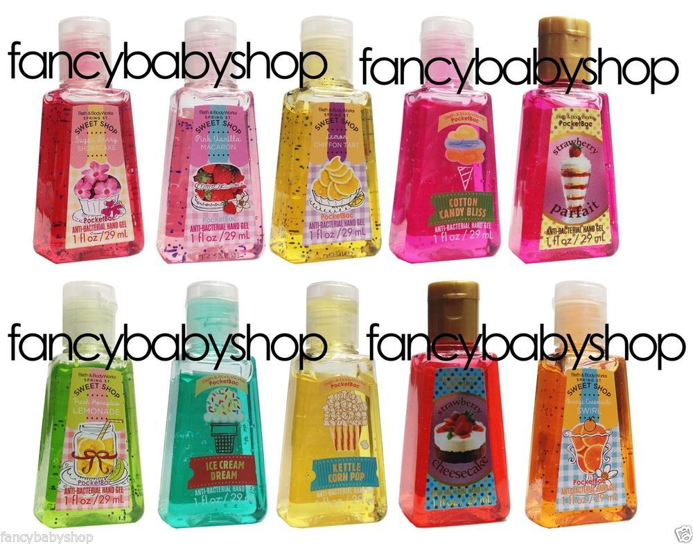 Rare Pocketbac Hand Sanitizer Bottles From Bath And Bodyworks