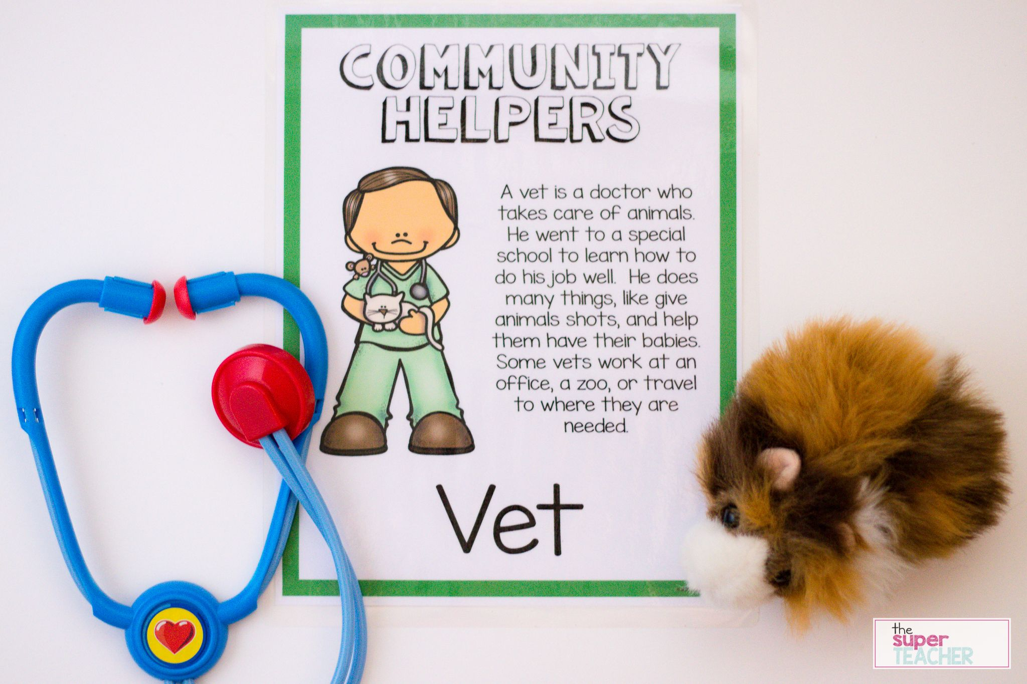 Pin On Community Helpers Preschool