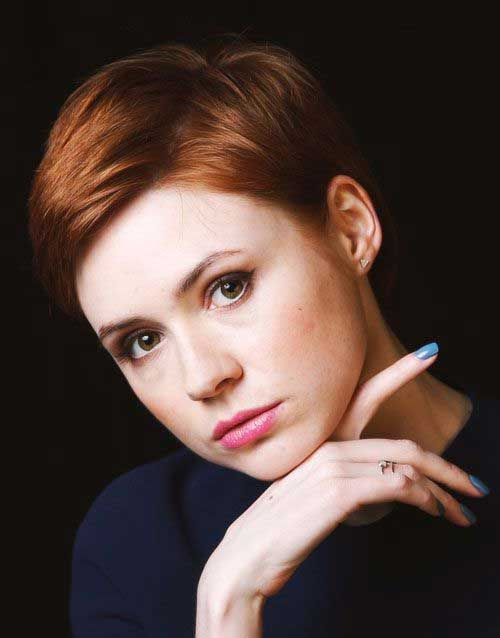 short hair for round faces 2014  2015  hairstyles