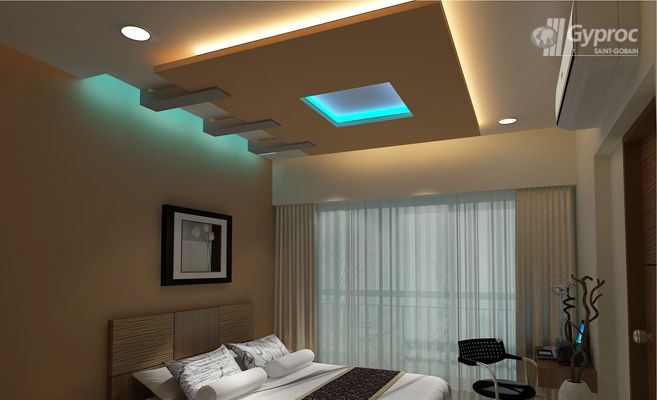 Captivating Bedroom Ceiling Designs | False Ceiling Design Gallery U2013 Saint Gobain  Gyproc India