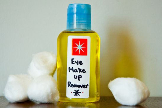 diy organic eye makeup remover