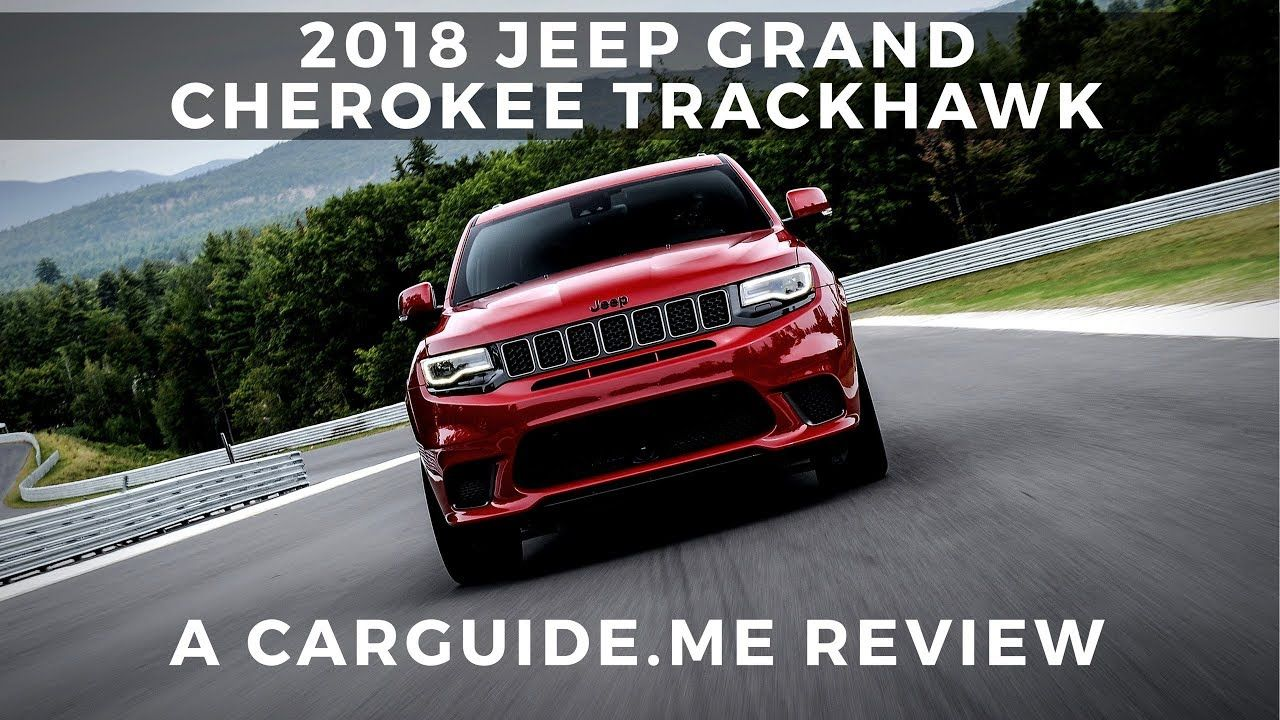 Is The Jeep Grand Cherokee Trackhawk Just About Launch Control