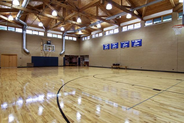 Beautiful Basketball Indoor Courts Contemporary - Interior Design ...